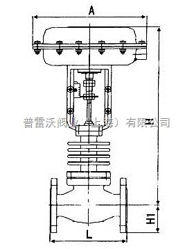 普雷沃-高温散热气动调节阀