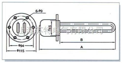 SLY2油用管状电热元件