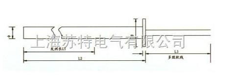 SLM4-2限位式单头电热管