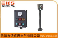 FZC-S-A2D2G挂式防水防尘防腐操作柱,FZC-S-A2D2L立式三防操作柱,10A,380V,IP65