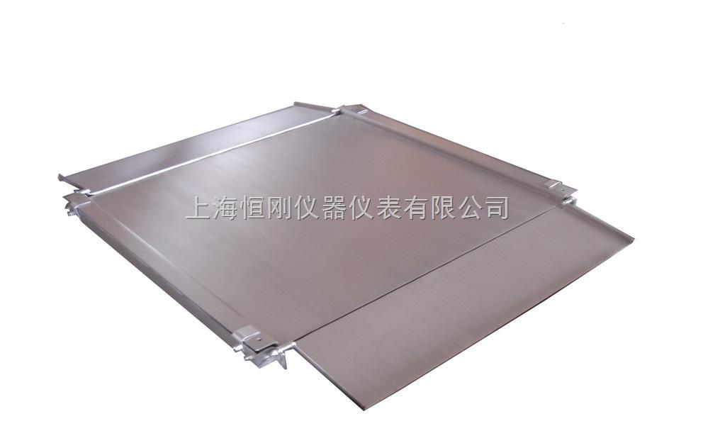 1.5m×2m超低自带引坡地磅秤