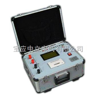 直流电阻快速测试仪(5a)采用了先进的开关电源技术,其测量速度比电桥