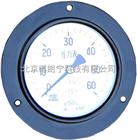 75mm盘装压力表 轴向安装压力表 面板安装压力表
