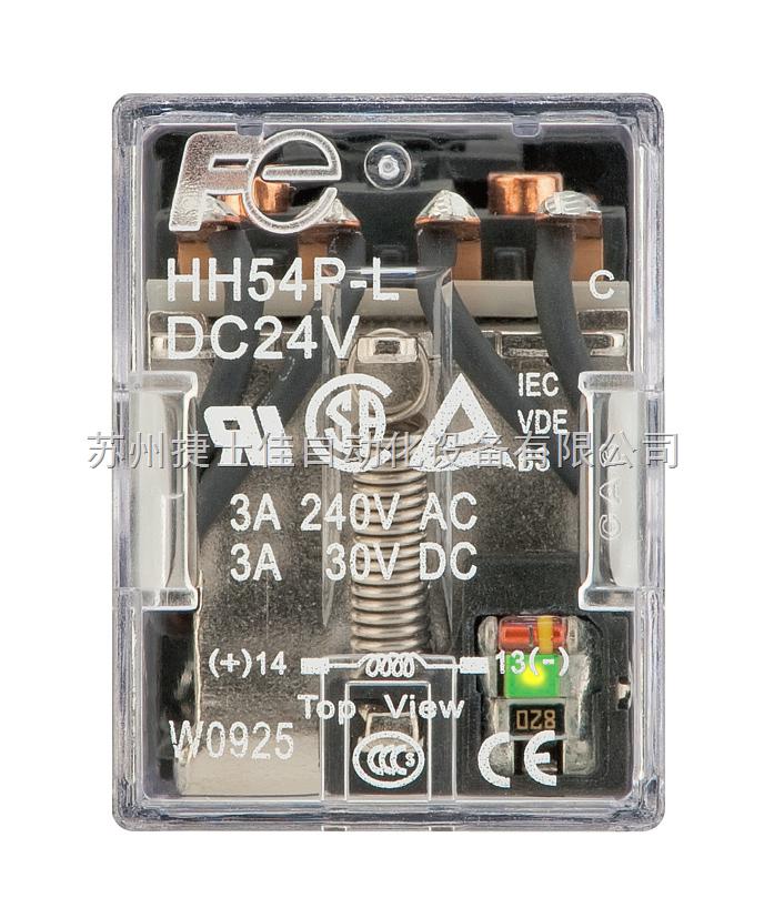 富士hh54p中间继电器hh54p-lc-dc24v