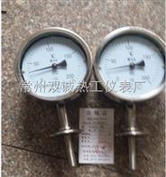 食物厂专用卫生接口卡盘式双金属温度计厂家