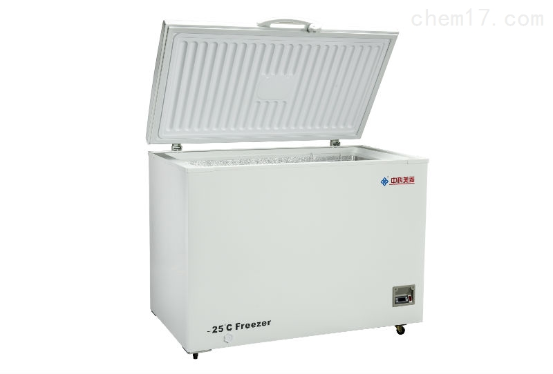 医用-25℃、358L卧式顶开门中科美菱低温冰箱价格