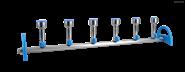 「洛科仪器 - 微生物检测仪器」MultiVac 600-MS 硅胶塞式不锈钢多孔过滤器
