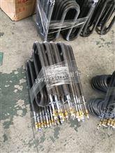 工业烘箱散热片电热管,高温烘干线翅片加热管。