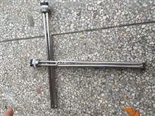 电热设备电热管订做,不规则工业用管,带法兰双头管