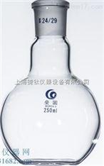 单口平底烧瓶(厚壁) 标准磨口玻璃烧瓶