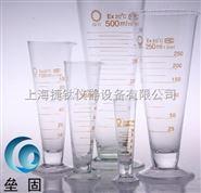 玻璃量杯 锥形玻璃半线刻度量杯