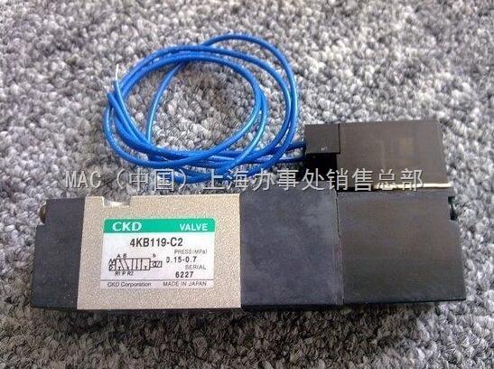 FS3-04-4-B-AC220V日本CKD电磁阀