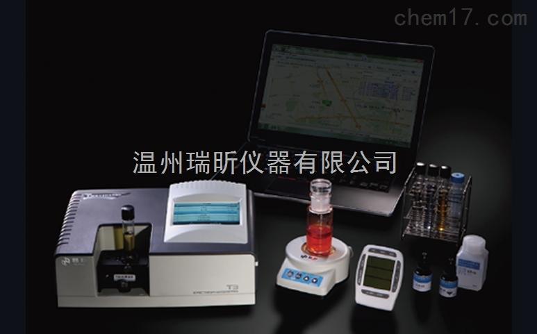 T3FS系列食品安全现场快速检测仪