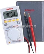 日本三和PM3小型超薄便携式多功能数字万用表