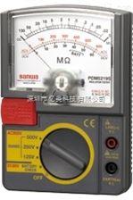 日本三和PDM5219S指针式绝缘电阻测试仪