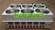 JDF-8CD数显恒温磁力8孔同步搅拌油浴锅