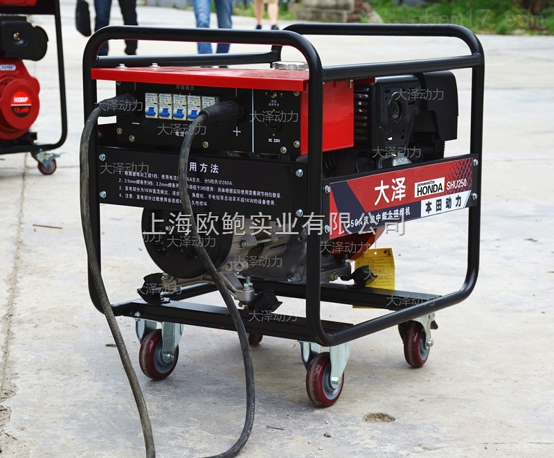 250A本田电焊机,发电电焊两用机价格