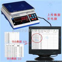 连接电脑电子秤 带RS232端口电子桌秤台称价位