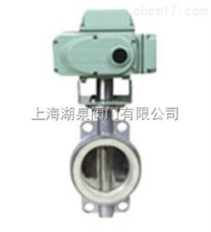 D971X/H电动对夹蝶阀