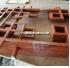 专业生产覆膜木纹仿古装饰条