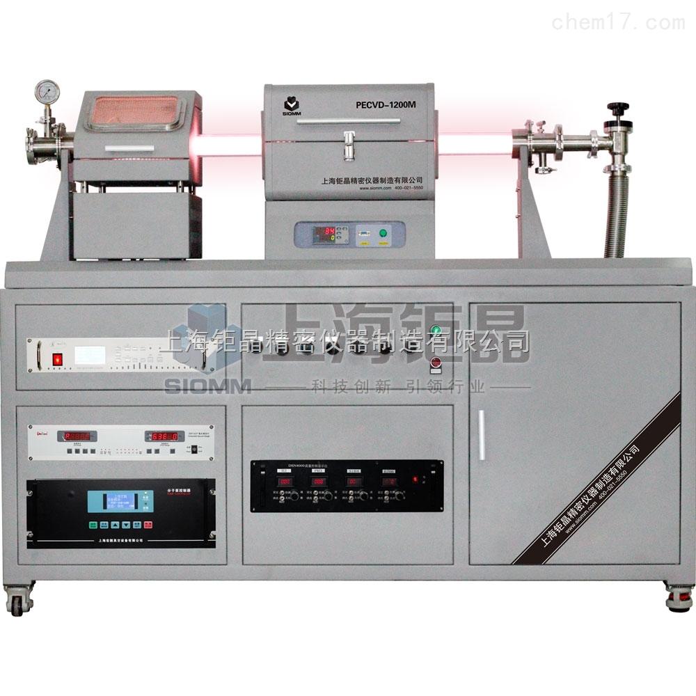 pecvd-1200m pecvd小型滑动开启式管式炉系统图片