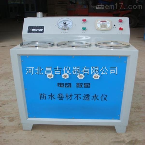 天津电动数显防水卷材不透水测定仪
