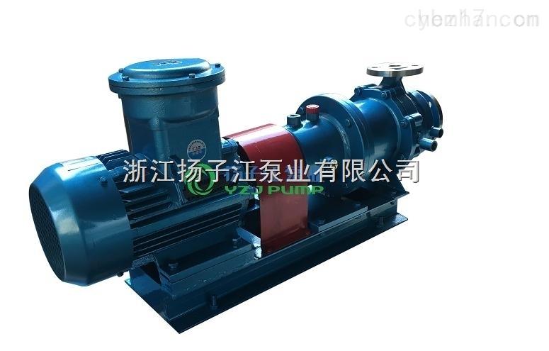 CQB100-65-200不锈钢磁力泵 耐酸耐碱腐蚀防爆离心化工泵