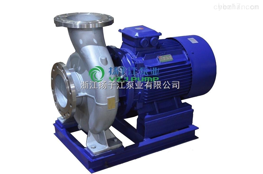 ISWH80-160耐腐蚀管道离心泵耐酸离心泵 卧式管道化工泵 单级单吸耐腐蚀离心泵