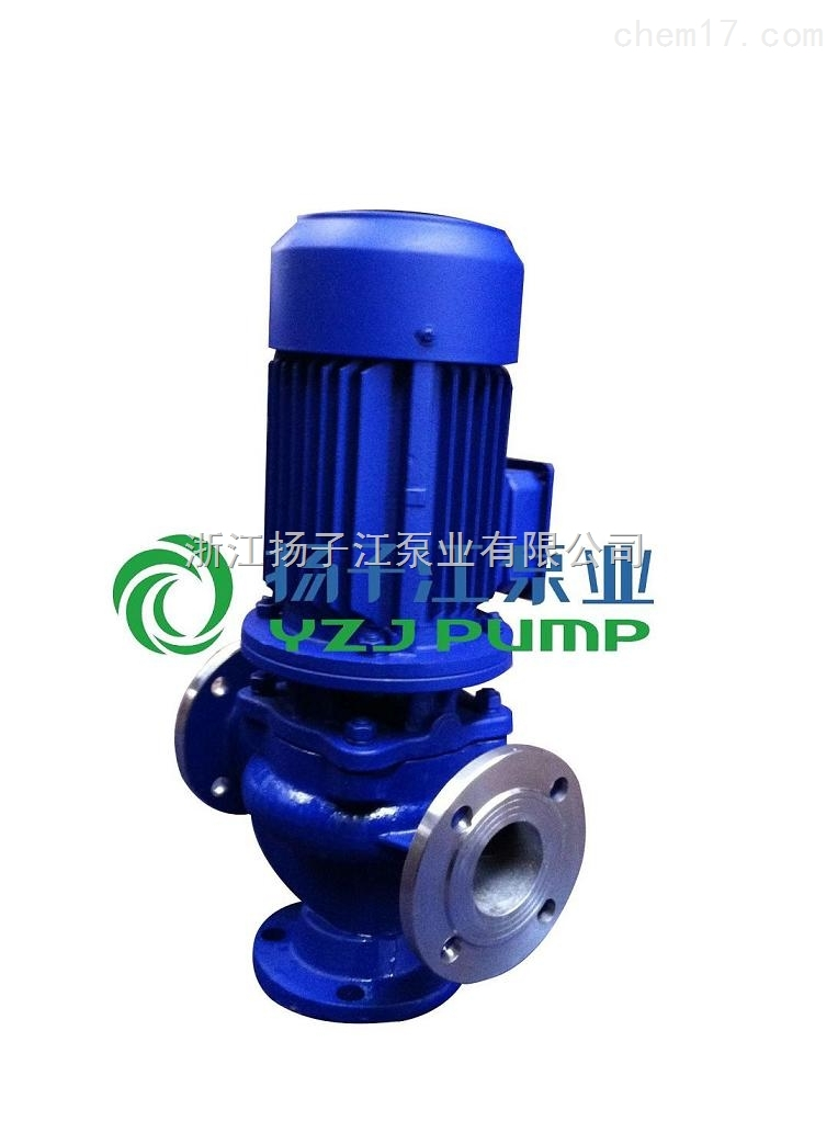 厂家批发 GW管道式无堵塞排污泵 立式污水管道泵 防缠绕 高效率