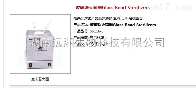 玻璃珠灭菌器BS300 手术器械灭菌器BS500