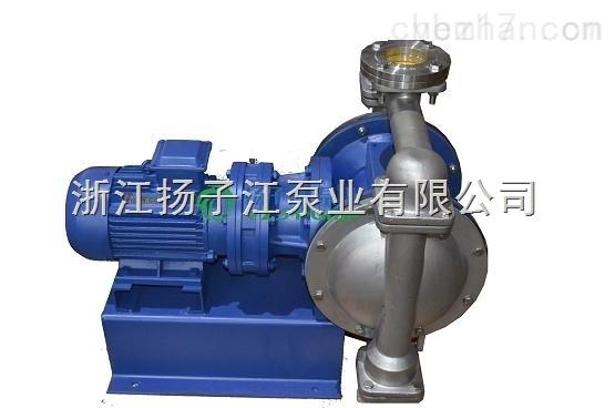 4寸DBY不锈钢电动隔膜泵 DBY-100耐腐蚀电动隔膜泵 防爆隔膜泵