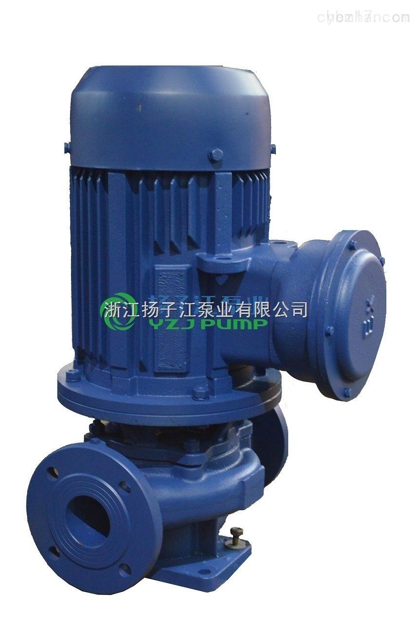 GDL立式多级管道泵,立式不锈钢管道泵,热水型不锈钢立式管道泵
