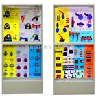 YUY-22机械综合陈列柜|机械教学陈列柜