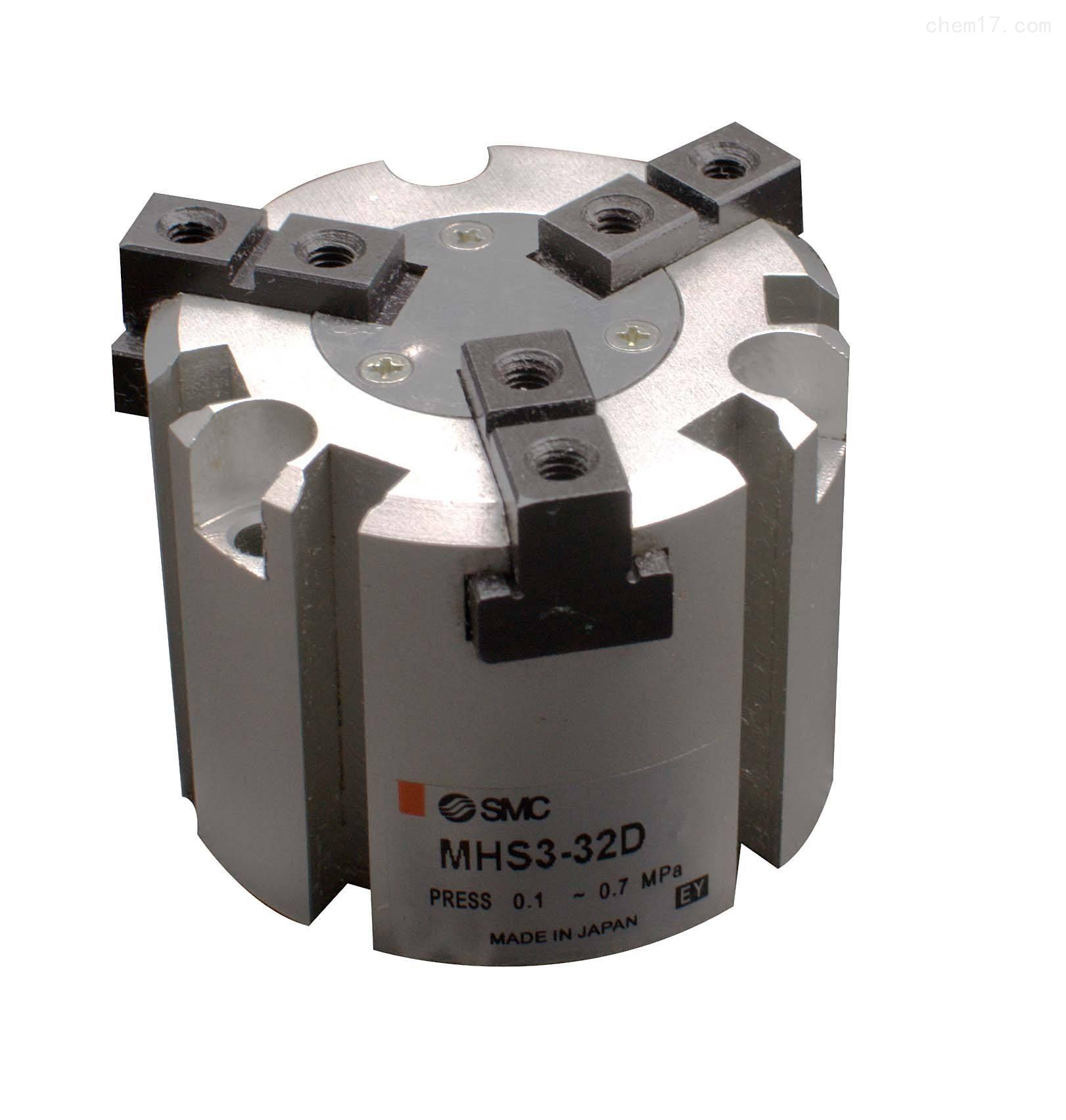 SMC圆柱体气爪MHS3-32D型号气缸到货了