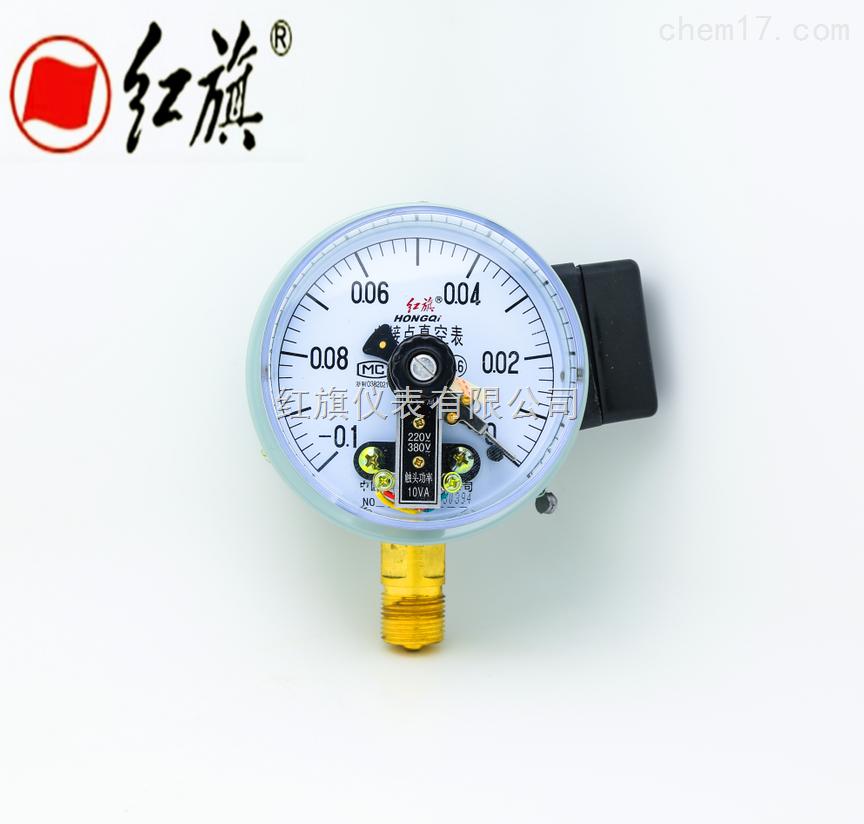 电接点压力表概述: 特种磁助压力表是根据使用工况的不同要 求,在普通型磁助压力表的基础上,研制了具 有耐震、耐蚀、氨用、耐蚀耐震及带有隔膜隔离器等 功能的多种类型的产品。 精确度等级:1.6级。 测量范围:0-0.1~0-60MPa, -0.1-0, -0.1-2.4MPa。 磁助压力表广泛应用于石油、化工、冶金、电力、机械等工业部门或机电设备配套中测量无爆炸危险的各种流体介质压力。 通常,仪表经与相应的电气器件(如继电器及变频器等)配套使用, 即可对被测(控)压力系统实现自动控制和发信(报警)的目的。