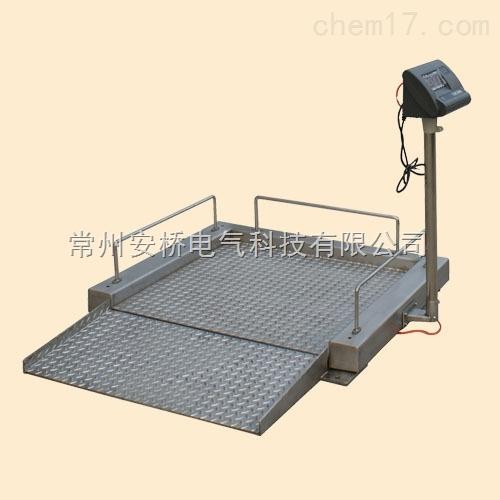 500公斤带9针打印机电子台秤