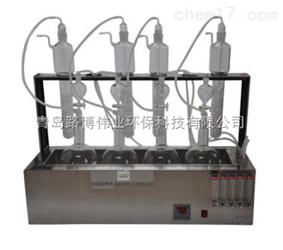 路博LSC-400水质硫化物酸化吹气仪LSC-400