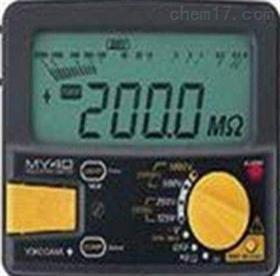 安捷伦探头1165A日本横河YOKOGAWA万用表MY40-01