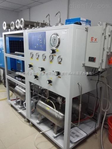 多组分气体膜分离性能评价装置