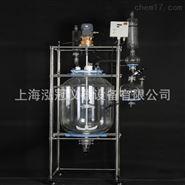 上海專業生產雙層玻璃反應釜