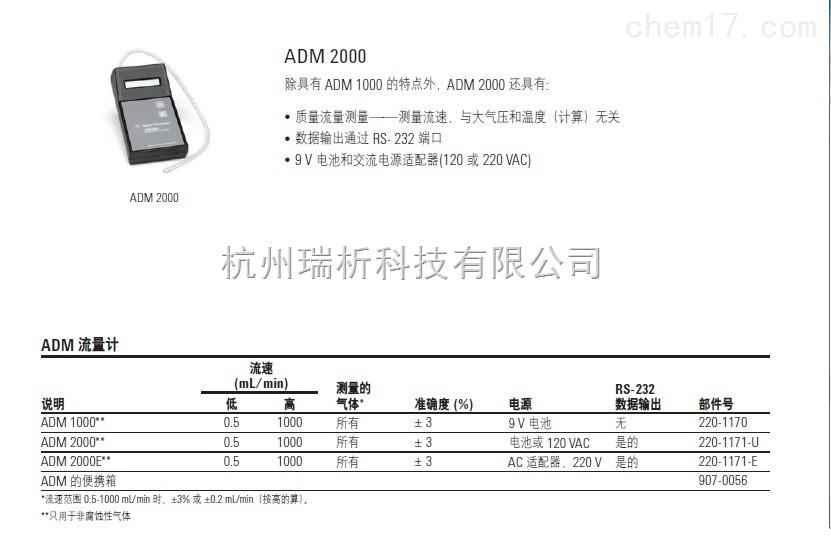 220-1170色谱柱液相色谱柱 ADM1000流量计220-1170