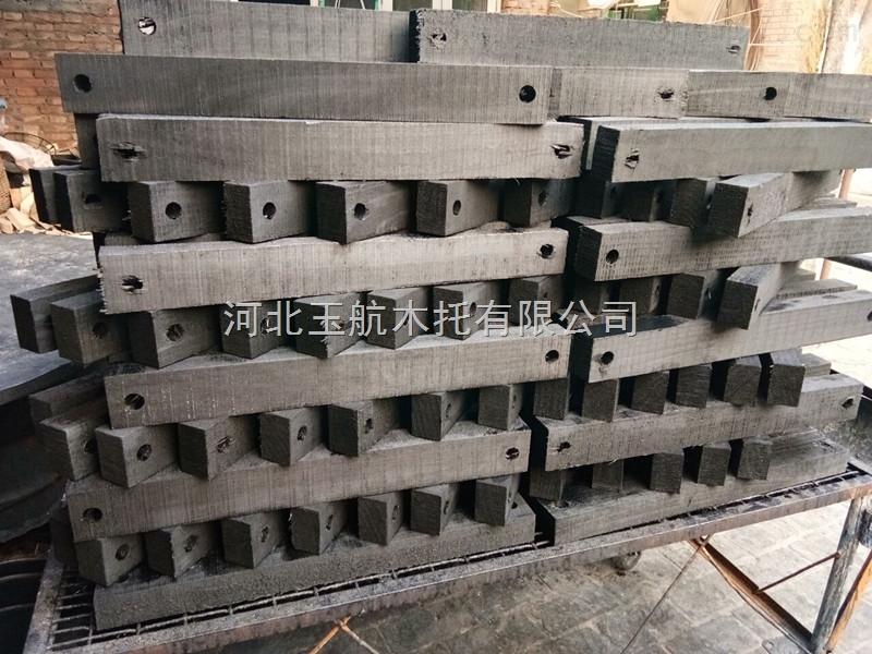 长治隔冷管道木垫块 防震动支撑块