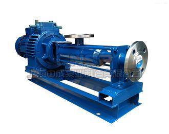 G20-1污泥螺杆泵-调速螺杆泵