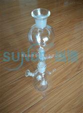 水質硫化物酸化吹氣儀 玻璃配件 反應瓶 亞甲基藍分光光度法/碘量法