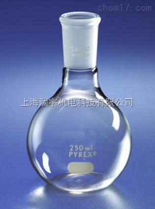 美国PYREX平底磨口玻璃烧瓶