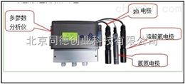 SCM 600在线多参数溶解氧、ph、氨氮分析仪