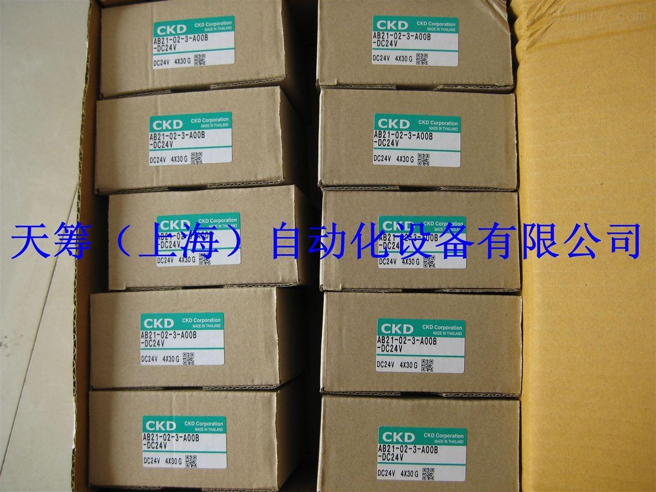 CKD流体阀AB21-02-3-A00B