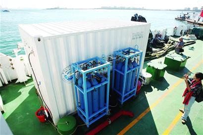 国内首艘科研船投入使用 配多种高端仪器设备