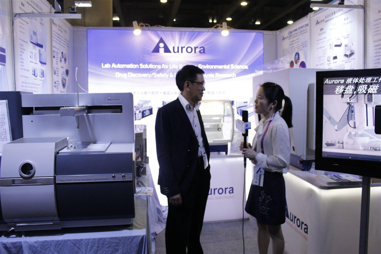 访Aurora董事长梁洞泉博士:新品聚焦尖端领域 持续致力离子通道应用研究