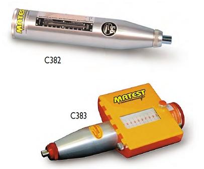意大利MATEST  C380混凝土回弹仪 混凝土建筑的无损检测 混凝土的耐压强度 高品质回弹仪   意大利MATEST一级代理